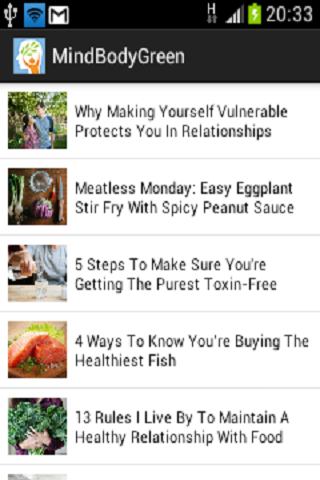 Mind Body Green RSS Reader
