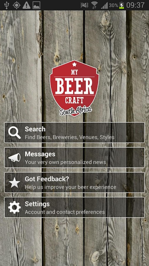 MyBeerCraft SA- screenshot