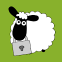 Sheep Farm Theme GO Locker icon