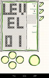 Doodle Brick Game Simulator