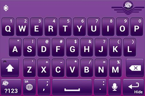 SlideIT Serbian Latin QWERTY- screenshot