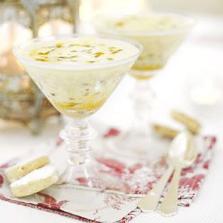 Passion Fruit Cream.