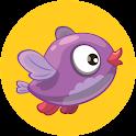 едят фрукты - дети птица игра icon