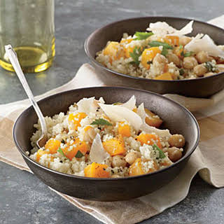 Couscous with Winter Vegetables.