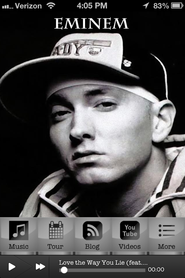 Eminem Fan App - screenshot