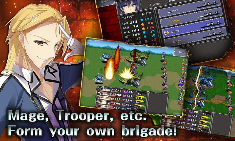 RPG Chrome Wolf - KEMCO - screenshot