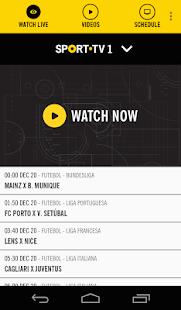 SPORT TV Multiscreen - screenshot thumbnail