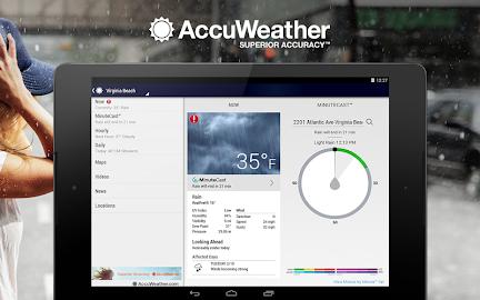 AccuWeather Screenshot 1