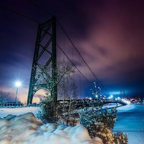 - Icebreak - by Joe Hamel - Buildings & Architecture Bridges & Suspended Structures