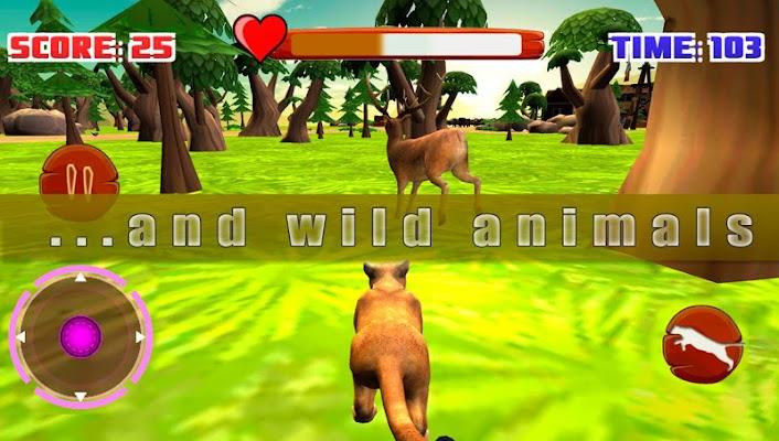 Cougar Simulator 3D - screenshot