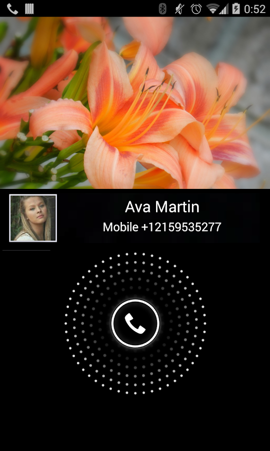 Video Caller Id- screenshot