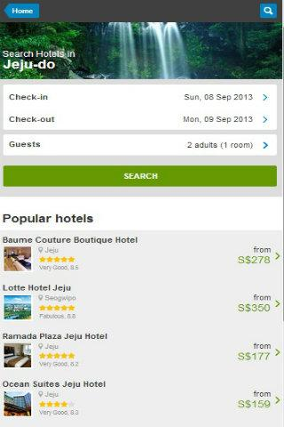 Korea Hotel Discount - screenshot