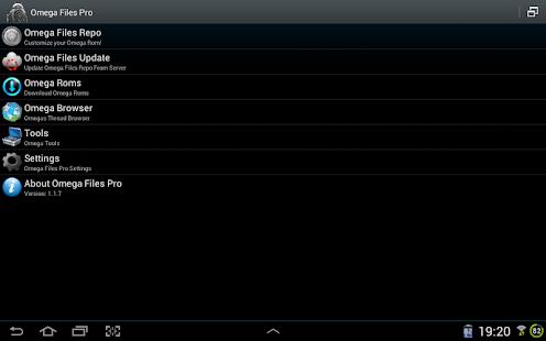 Omega Files Pro - screenshot thumbnail