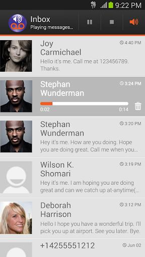 Visual Voicemail by MetroPCS Screenshot