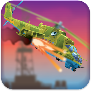 Helicopter Pilot War Icon