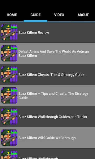【免費媒體與影片App】Buzz Killem Top Guide-APP點子