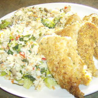 Breaded Ranch Chicken or Pork Chops.