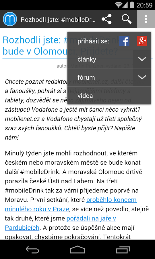 mobilenet.cz- screenshot