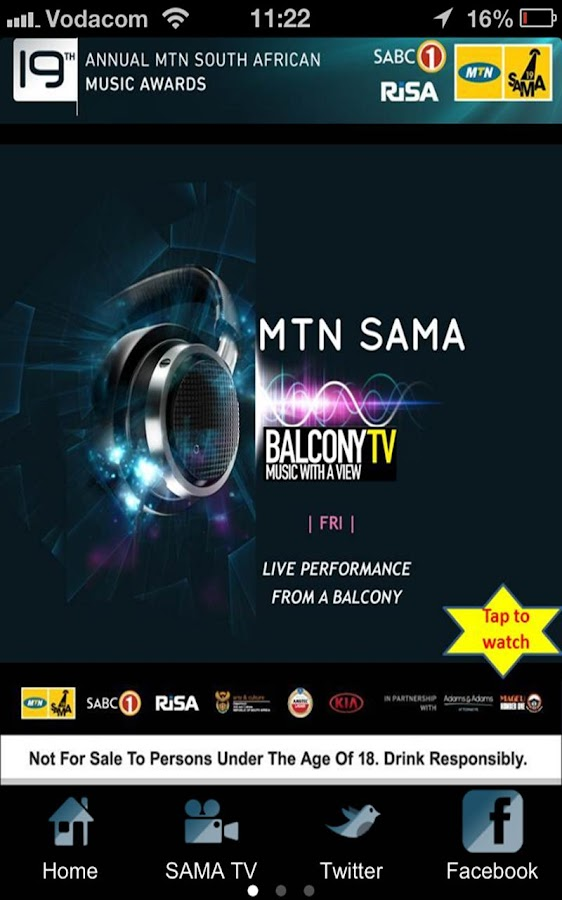 MTN SAMA TV - screenshot