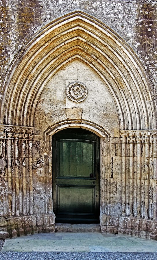 Church doorway by Michael Moore - Buildings & Architecture Architectural Detail (  )