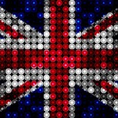 LED UK Flag Live Wallpaper