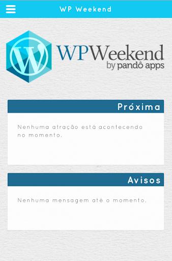 WP Weekend