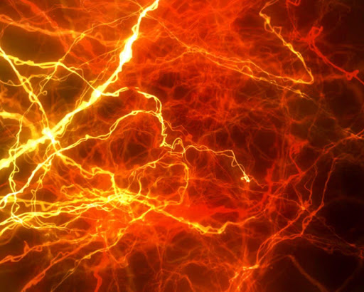 Electric Sparks Live Wallpaper