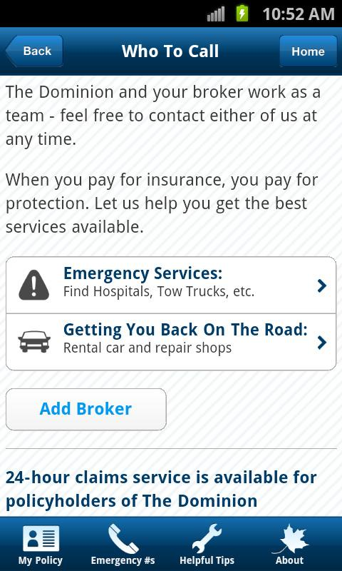 The Dominion: Insurance Help - screenshot