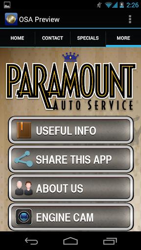 【免費生活App】Paramount Auto-APP點子