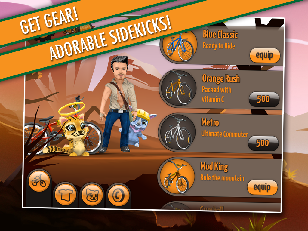 Sidekick Cycle- screenshot