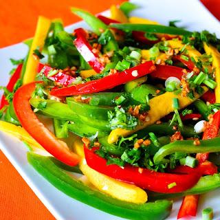 Mango & Bell Pepper Salad