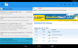 Screenshot of OlMail Reader and Exporter