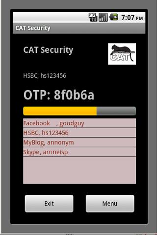 CAT Authentication Token 1.0