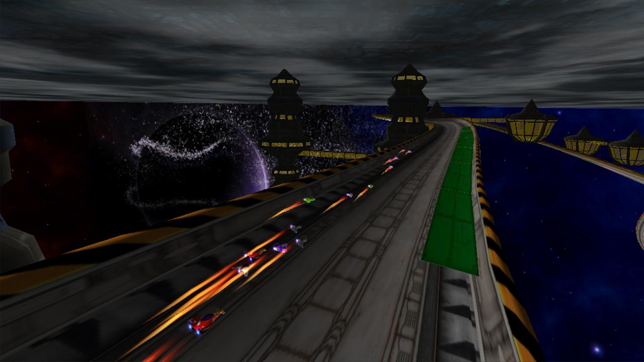 LevitOn Speed Racing Free - screenshot