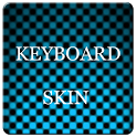 Aqua Carbon Keyboard Skin icon