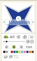 Screenshot of Name Card Maker