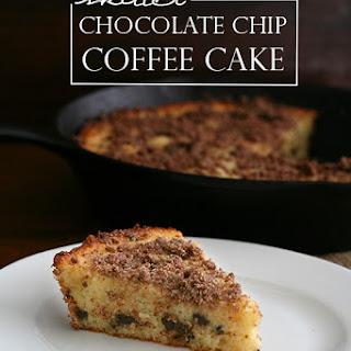 Skillet Chocolate Chip Coffee Cake