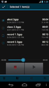 Sound Recorder& Voice Recorder - screenshot thumbnail