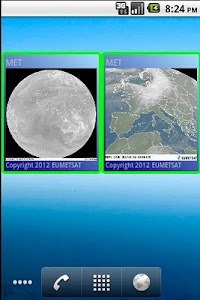 Weather satellite widget screenshot 0