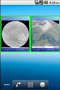 Weather satellite widget - screenshot thumbnail