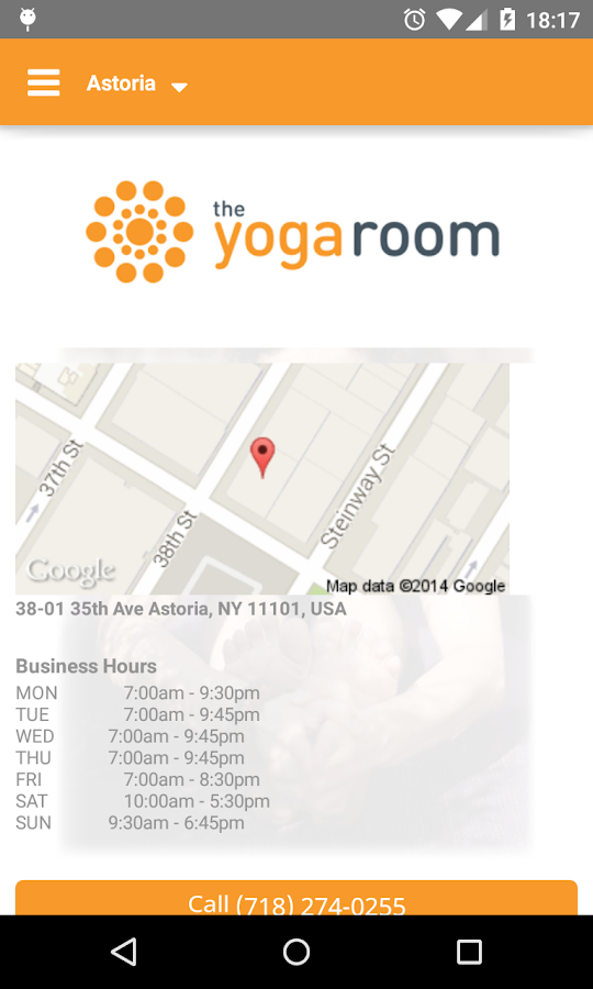The Yoga Room- screenshot