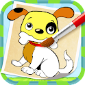 Puppy Coloring icon