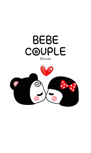 BeBe Couple SMS Theme