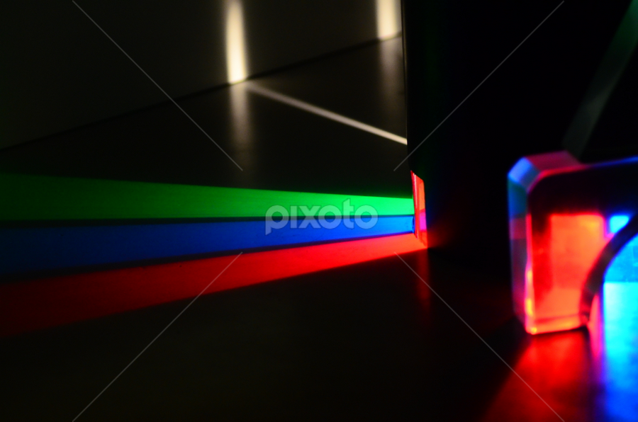 Prism Lighting Light Painting Abstract Pixoto