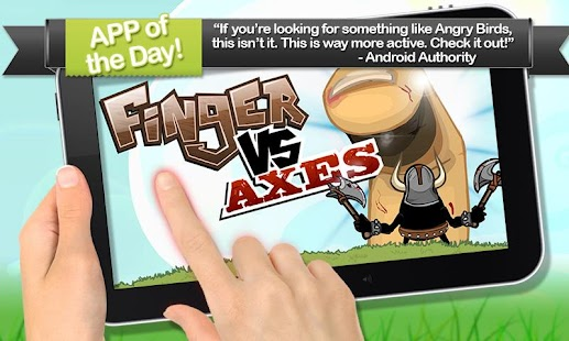 Finger VS Axes- screenshot thumbnail