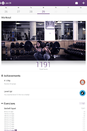 Fitocracy Workout Fitness Log Screenshot 9