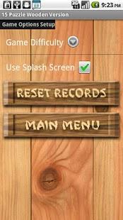 15 Puzzle Wooden Free - screenshot thumbnail