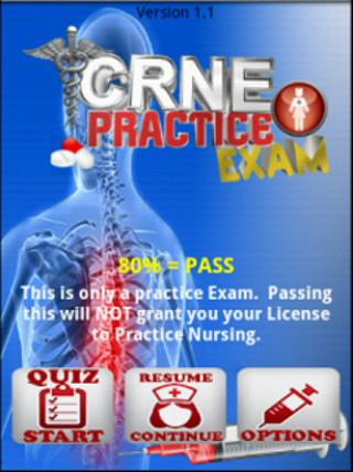 CRNE: Nurse Exam Practice