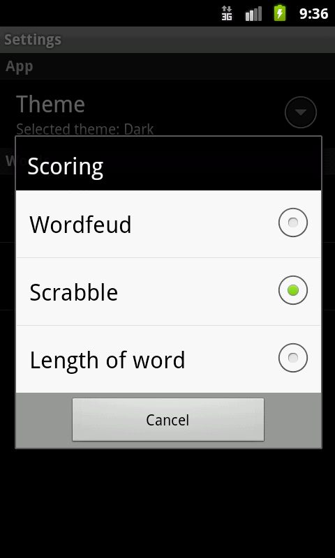 Wordwell FREE - screenshot
