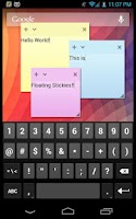 Screenshot of Floating Stickies